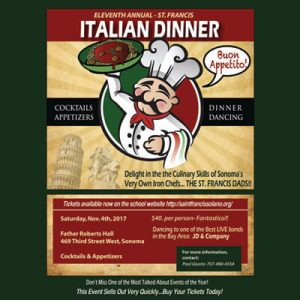 Dads Club Italian Dinner Dance @ Father Roberts Hall