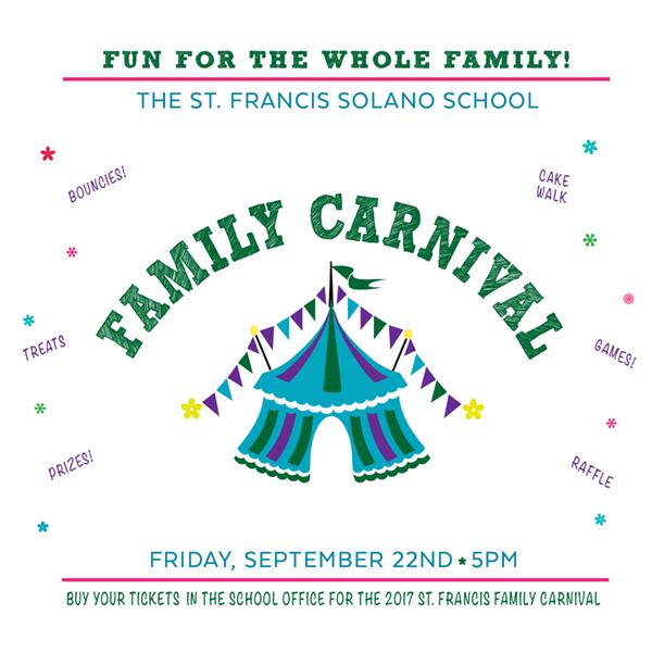 The Family Carnival is September 22!