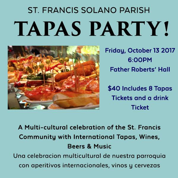 FRH Tapas Party