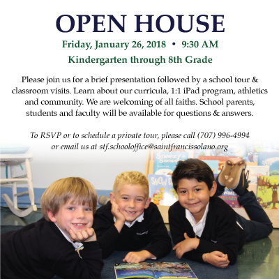 Visit our Open House on January 26th!