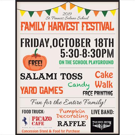 2019 St. Francis Family Harvest Festival